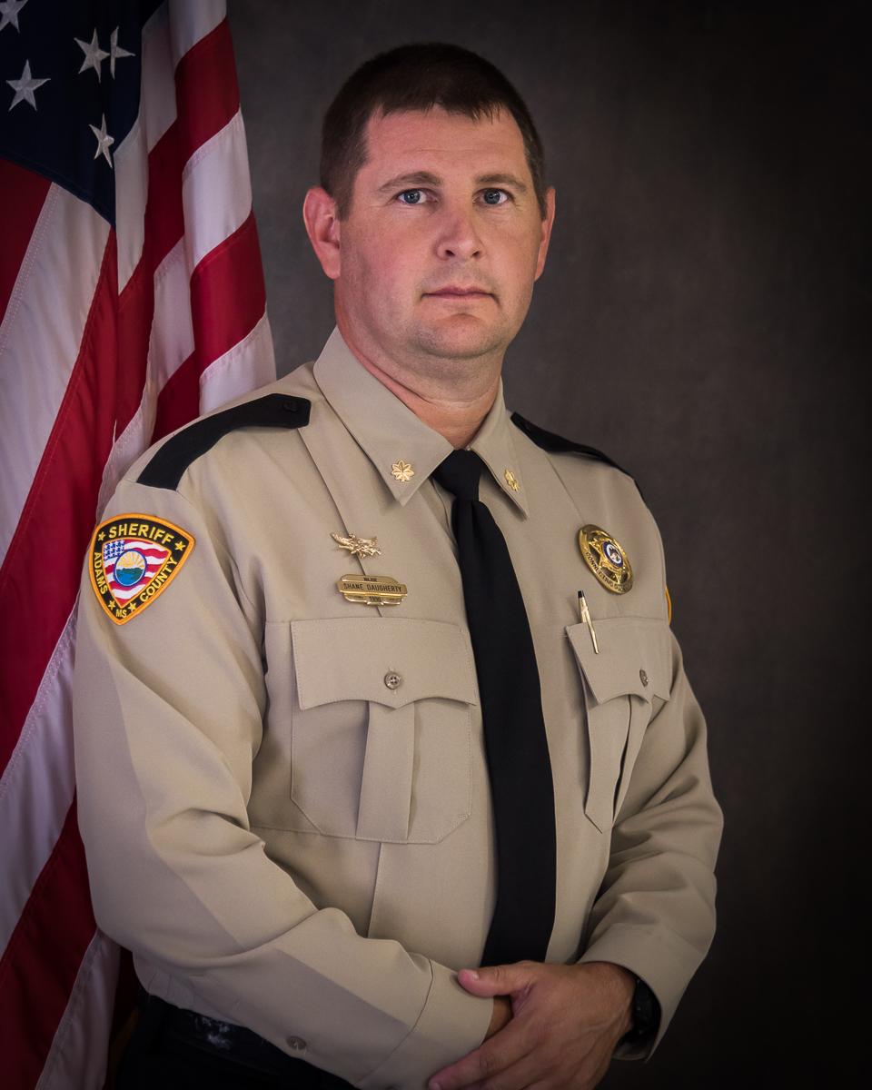 Major Shane Daughtery