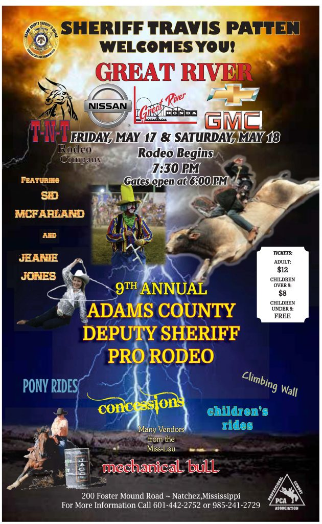 9th Annual Deputy Sheriff Pro Rodeo Adams County Sheriff